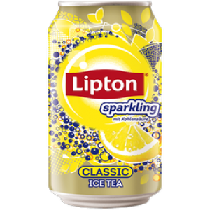 Lipton Sparkling Ice Tea Classic, 0,33l (ink.Pfand) DS