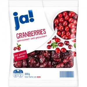 ja! Cranberries 200 g