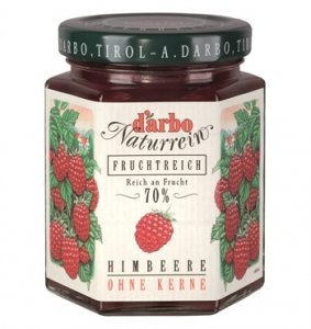 D'árbo Fruchtreich Himbeere o. Kerne, 200 g