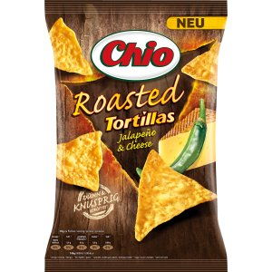 Chio Roasted Tortillas Jalapeño & Cheese 125 g