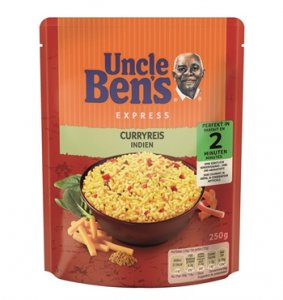 Uncle Ben's Express Curryreis 250 g