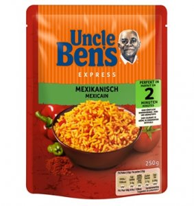 Uncle Ben's Express Reis Mexikanisch 250 g