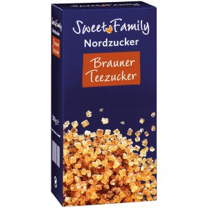 Sweet Family Brauner Teezucker 500 g