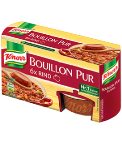 Knorr Bouillon Pur Rind 6 x 500 ml, 168 g