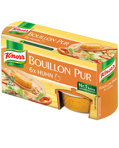 Knorr Bouillon Pur Huhn 6 x 500 ml, 168 g