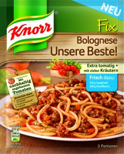 Knorr Fix - Bolognese - Unsere Beste! 42 g