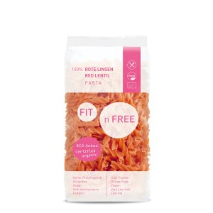 FIT'n'FREE Rote Linsen Pasta 300 g
