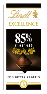 Lindt Excellence 85%, 100 g