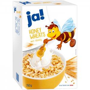 ja! Honey Wheats 750 g