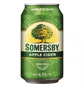 Somersby Apple Cider 4,5 % Vol., 0,33 l inkl. Pfand