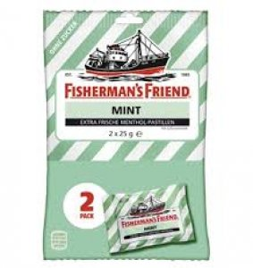 Fisherman's Friend Mint ohne Zucker Duopack 2 x 25 g