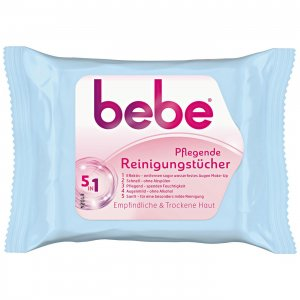 bebe® Young Care 5in1 pflegende Reinigungstücher