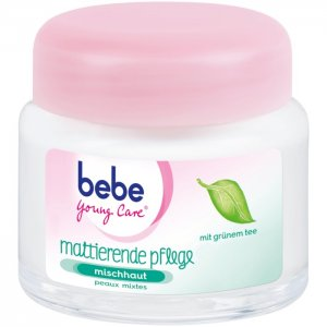 bebe Young Care Tagespflege mattierend, 50 ml