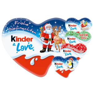 kinder & Love Herz 37g