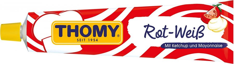 Thomy Rot-Weiß Ketchup & Mayonnaise 200ml