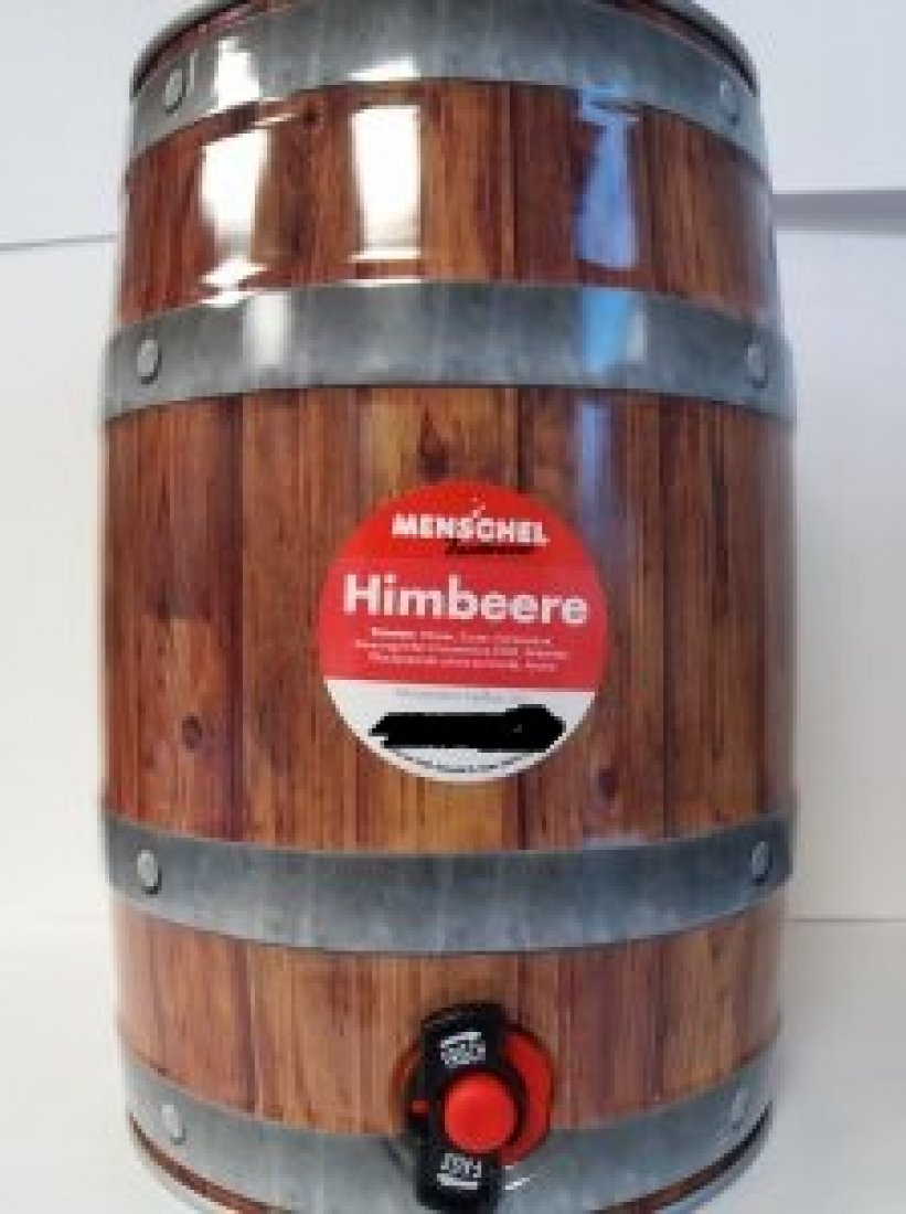 Menschel Himbeerbrause 5l Fass