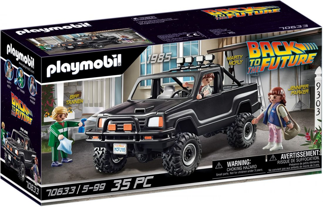 PLAYMOBIL® 70633 Back to the Future Marty's Pick-up Truck